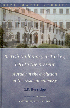 British Diplomacy in Turkey, 1583 to the present book cover