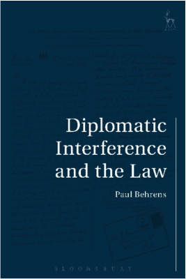 Book diplomatic interference and the law
